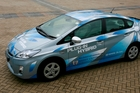 Toyota's plug-in Prius variant, which is not available in New Zealand. Photo / Supplied