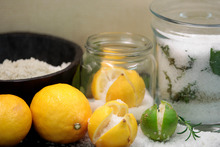 Preserved citrus fruit is perfect for use in North African cooking. Photo / Michael Craig