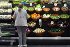Fruit and vegetable prices rose 1.5 per cent last month. Photo / Bloomberg
