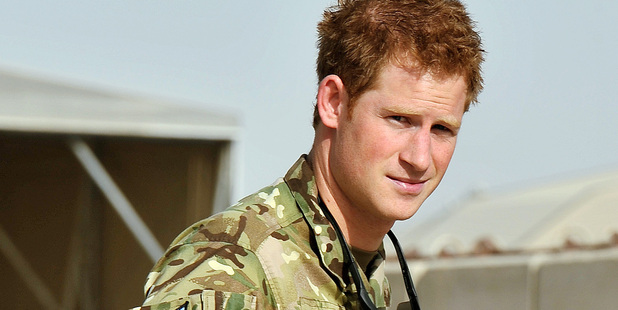 Prince Harry has arrived at Camp Bastion in Afghanistan. Photo / AP