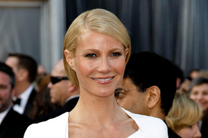 Gwyneth Paltrow at the Oscars. The actress has been named the world's best dressed woman. Photo / AP