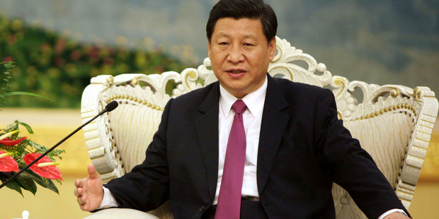 Aug. 29  file photo of Chinese Vice President Xi Jinping. Photo / AP