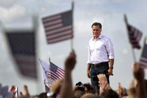 Republican presidential candidate, former Massachusetts Gov. Mitt Romney. Photo / AP
