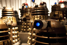 Daleks in Dr Who. Photo / Supplied