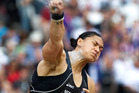 Valerie Adams is now unbeaten in 30 events dating back more than two years.  Photo / Mark Mitchell