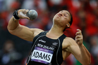 Valerie Adams initially won a silver medal in London. Picture / Brett Phibbs