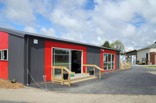 Dozens of Christchurch schools - including Avonside Girls High School - have needed quake repair work over the past year, but more than a dozen are set to close. Photo / APN