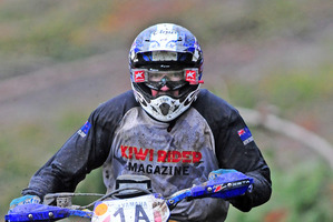 Tokoroa's Sean Clarke is taking over the reins for the Suzuki Six-Hour dirt bike marathon. Photo / Andy McGechan