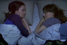 Emily Blunt and Rosemarie DeWitt join forces for a clever movie. Photo / Supplied