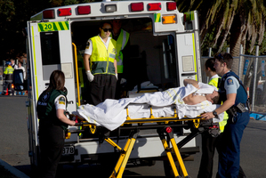 Single-crewing of ambulances poses a risk to patients' health and officers' safety. Photo / Brett Phibbs