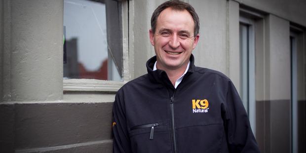 Calvin Smith, chief executive of K9 Natural Food. Photo /Natalie Slade