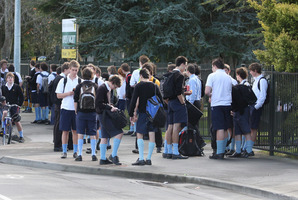 Shirley Boys High School pupils could merge with Christchurch Boys' High under a Government proposal. File photo / APN