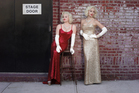 Karen (Katharine McPhee) and Ivy (Megan Hilty) vie for the star-making role of Marilyn Monroe. Photo / Supplied
