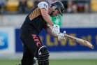 James Franklin is New Zealand's biggest hitter. Photo / Mark Mitchell