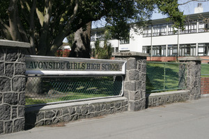 Christchurch schools such as Avonside Girls' High School are now concerned about their future after a confused Government announcement yesterday. File photo / APN