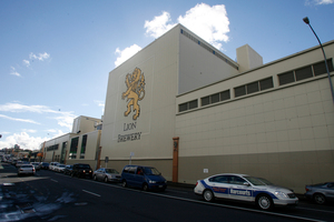 The University of Auckland plans to buy the ex-Lion Brewery site in Newmarket, Auckland. Photo / Glenn Jeffrey