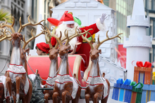The annual Farmers Santa Parade in downtown Auckland. File photo / Natalie Slade