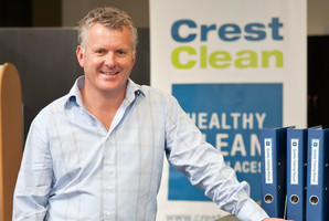 Grant McLauchlan of Crest Commercial Cleaning. Photo / Supplied