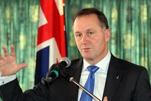 Prime Minister John Key says there is no reason for Maori water rights issues to delay the sale of Mighty River Power shares. Photo / Paul Taylor