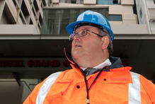 Earthquake Minister Gerry Brownlee. Photo / David Alexander