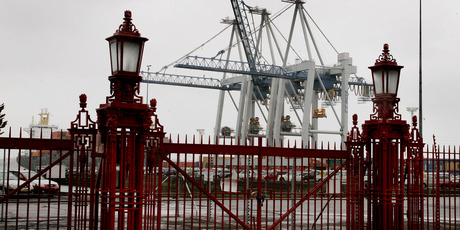 Labour will cite secrecy over the costs of Auckland's marathon waterfront dispute. Photo / Nigel Marple