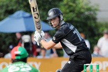 New Zealand's James Franklin says this month's Twenty20 tournament could be some senior players' final chance. Photo / NZPA