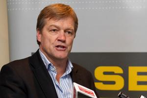 Football chairman Frank van Hattum. Photo / NZPA