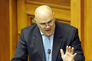 Tau Henare hopes to put the days of brawling in lobbies and heckling behind him. Photo / File
