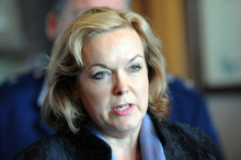 Justice Minister Judith Collins said the Bail Amendment Bill was likely to come into force next year and would make it harder for repeat offenders to get bail. Photo / Ross Setford