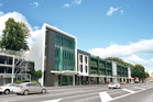 An artist's impression of the new five-star green building at 97-115 The Strand, Parnell.