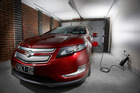 Holden's Volt, unlike the two pure electric cars on sale here, will charge from an ordinary household 10-amp plug. Photo / Supplied