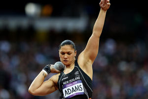 Valerie Adams will receive her gold next week. Photo / Brett Phibbs