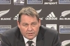 After their smackdown of Argentina, All Blacks coach Steve Hansen and crew address the media.