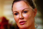Charlotte Dawson as she appeared during her 60 Minutes interview. Photo / YouTube/9NewsAustralia