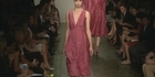 Watch: NY Fashion week:  Donna Karan's fashion show