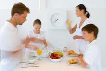 Tips on handling fractious behaviour at mealtimes are balm for tired parents. Photo / Thinkstock