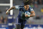 Ma'a Nonu in action for the Blues. Photo / Greg Bowker