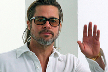 Brad Pitt says top actors have had to wave goodbye to multi-million dollar salaries. Photo / AP