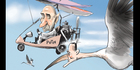 View: Cartoon: Key stalking Putin