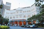Raffles Hotel in Singapore. Photo / Getty Images