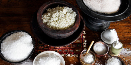 Salt is a constant in our lives, and you can enjoy it in a number of ways. Photo / Michael Craig