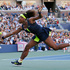 Serena Williams returns a shot to Victoria Azarenka. Photo / AP