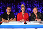 New Zealand's Got Talent's judging panel: Jason Kerrison , Rachel Hunter and Ali Campbell. Photo / Supplied