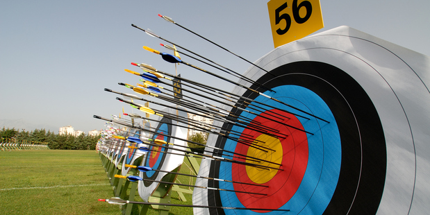 Hitting the mark at the Laggan outdoor centre near Dumfries in south-west Scotland. Photo / Thinkstock