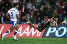  Adam Reynolds scores for the Rabbitohs. Photo / Getty Images