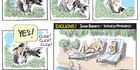 View: Cartoon: Exclusive! John Banks - topless princess