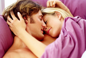 Surrounding yourself with purple in the bedroom could spice things up. Photo / Thinkstock