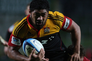 Chiefs No 8 Fritz Lee has re-signed with the rugby franchise for next season. Photo / Getty Images.