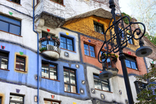 Hundertwasser House, in Vienna, is a curvaceous, imaginative and multicoloured creation. Photo / Thinkstock