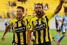 The Phoenix have a pre-season game against the Western Sydney Wanderers in Christchurch tomorrow. Photo / Getty Images. 